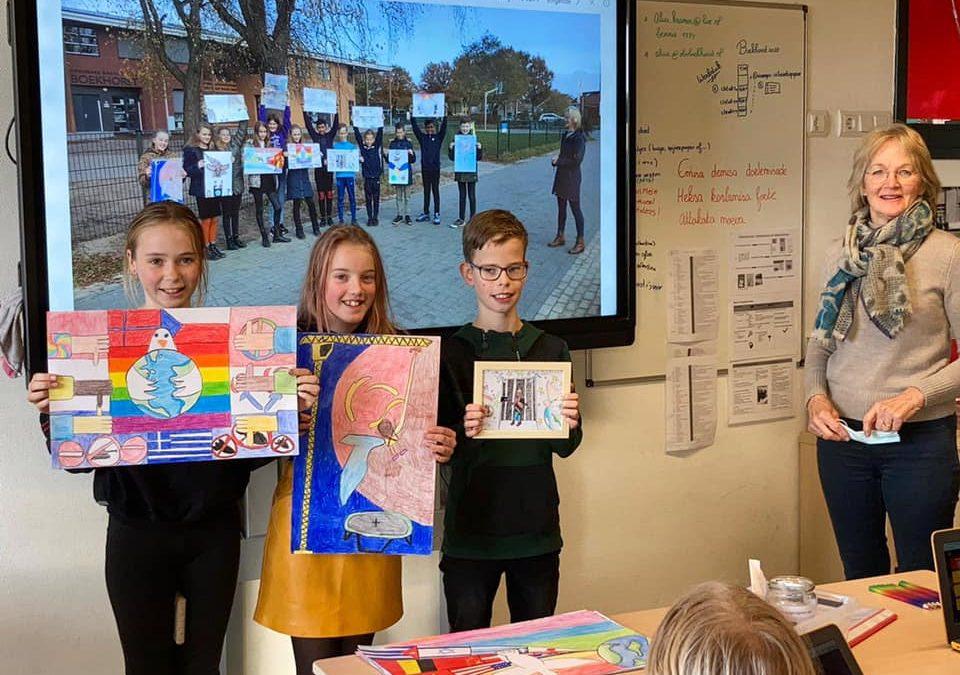 Openbare basisschool de Boekhorst in Oosterwolde viel in de prijzen